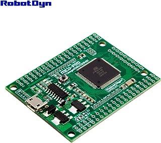RobotDyn MCU-PRO Embedded Mega 2560 Extra 86 I/O, Logic Level Switch 3.3V/5V, Ultra Small Size, MCU ATmega2560-16AU, USB CH340C, Arduino IDE Compatible (Pitch 0.1