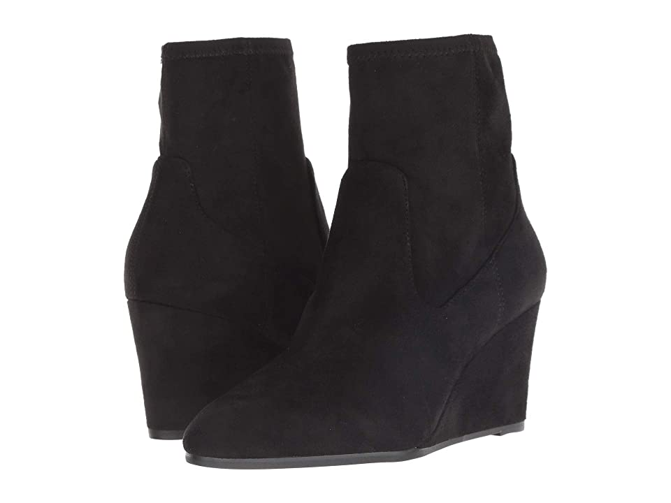 Tahari Ballad Wedge Boot (Black) Women