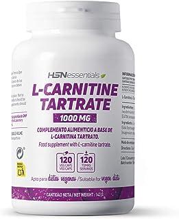 comprar comparacion L-Carnitina Tartrato de HSN | 3000 mg por Dosis Diaria | Alta Biodisponibilidad + Pérdida de peso + Mayor Energía + Rendim...
