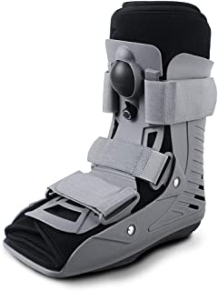 ExoArmor Walking Boot - Ultralight Design with Inflatable Liner. Short Rise (Medium)