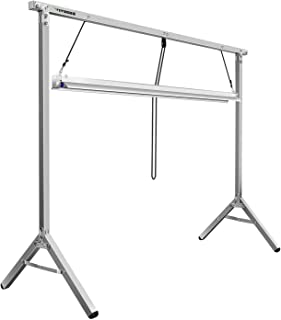 VIVOSUN T5 4ft Grow Light with Stand Rack for Seed Starting Plant Growing, 54W Growing Lamp System, 6400K (Stand, Fixture and HO Fluorescent Tube)