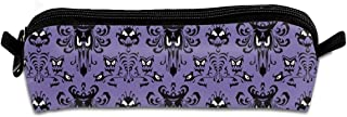 Haunted-Mansion Pencil Case Canvas Pencil Holder for Kids Bags Pencil Bags with Zipper