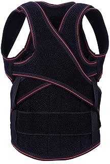 Back Brace for Lifting Hamkaw Adjustable Posture Corrector Waist Back and Shoulder for Teen,Kid,Children - Posture Brace Strap, Improved Posture, Shoulders, Slouching and Pain M