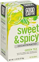 Green Tea; Decaf Sweet & Spicy , Pack of 6