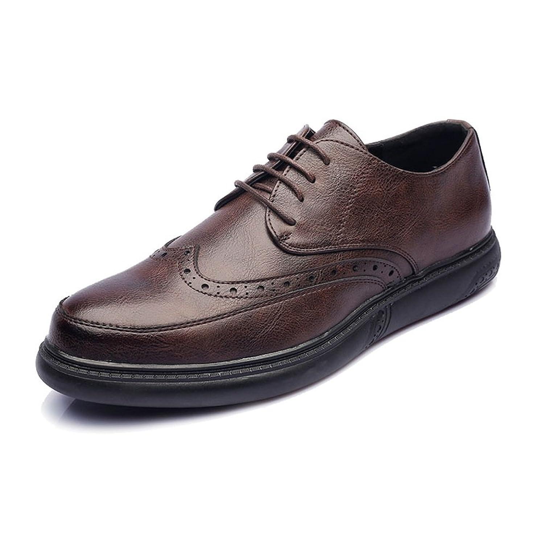[ワイエルワイ] シューズ PUレザー メンズ 通気性 柔軟 フォーマル ビジネス クラシック 紳士靴