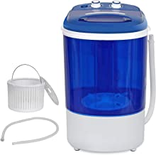 ZENSTYLE Compact Design Single Tub 8.8lbs Top Load Washing Machine Portable Mini 2-in-1 Washer with Timer Control and Spin Cycle Basket