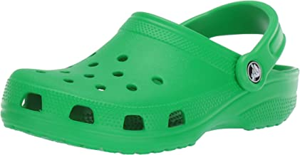 Clogs Classic Clog   لغزش راحت در کفش گاه به گاه آب ، چمن سبز ، 10 M مردان / 12 M زنان آمریکا