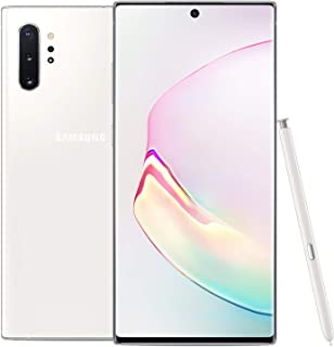 Samsung Galaxy Note 10+ Plus Factory Unlocked Cell Phone with 256GB (U.S. Warranty), Aura White/ Note10+ (Renewed)