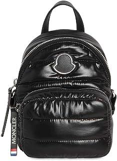 Moncler Women's Black Nylon Kilia Mini Backpack Messenger Crossbody Handbag