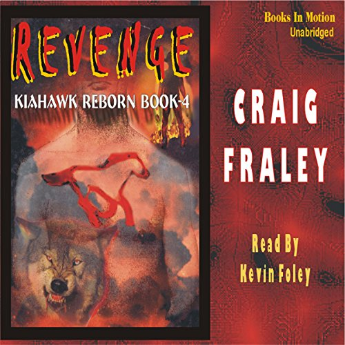 Kiahawk Revenge audiobook cover art