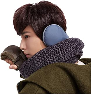 Winter Unisex Earmuffs Faux Furry Warmers Rotatable Foldable Outdoor