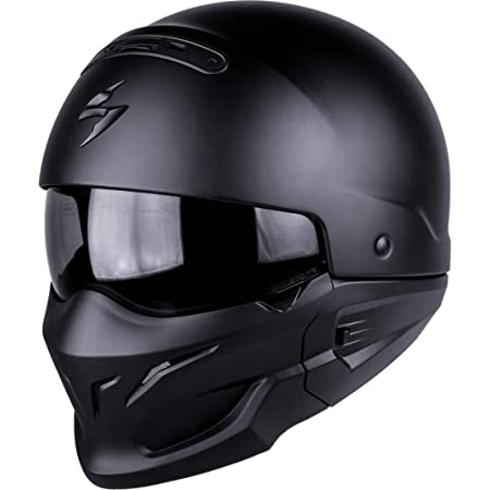 Scorpion 82 100 10 04 Motorradhelm Exo Combat Noir Größe M Scorpion Helmets Auto