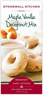 Stonewall Kitchen Maple Glazed Vanilla Doughnut Mix, 19 oz