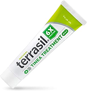 terrasil Tinea Treatment MAX - 6X Faster Relief, Patented Natural Therapeutic Anti-fungal Ointment for Tinea Relieves itch...