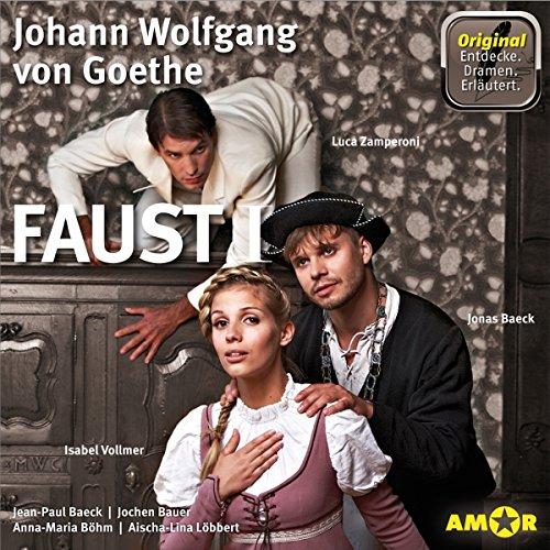 Faust I - Die wichtigsten Szenen im Original audiobook cover art