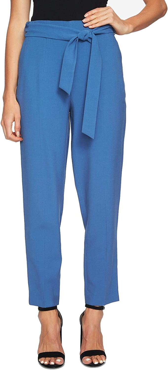 1.State Womens SashBelted Casual Trousers