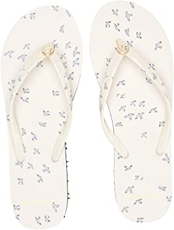 9b347fa78f9 Tory Burch. Metallic Leather Flip-Flop. $68.00. Printed Thin Flip-Flop