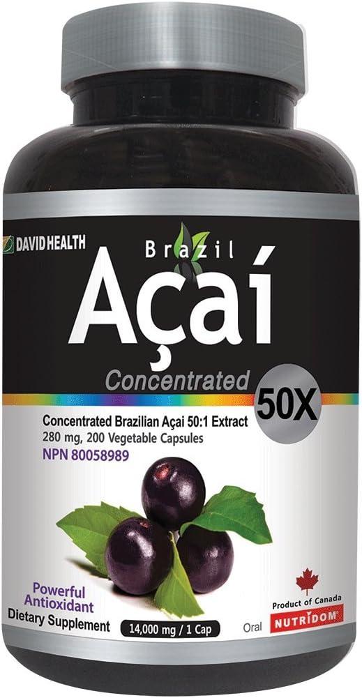 Nutridom High quality Cheap bargain Brazil Acai Concentrated Vegetabl 50X 200