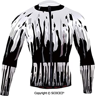 Cycling Jersey Long Sleeves Men,Academy Celebration Party Student Silhouettes Ha