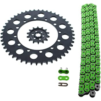 D.I.D MXH-001OEM 520DZ2 Gold Chain and 13 Teeth//48 Teeth Sprocket Kit