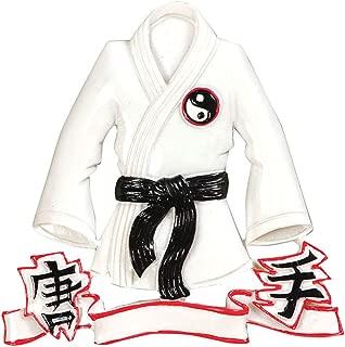 Personalized Karate Jacket Christmas Tree Ornament 2019 - Martial Art Athlete Belt Training Ying Yang Kick Hobby Child Chinese Kung Fu White Crane Grand-Kid Strike Gift Year - Free Customization