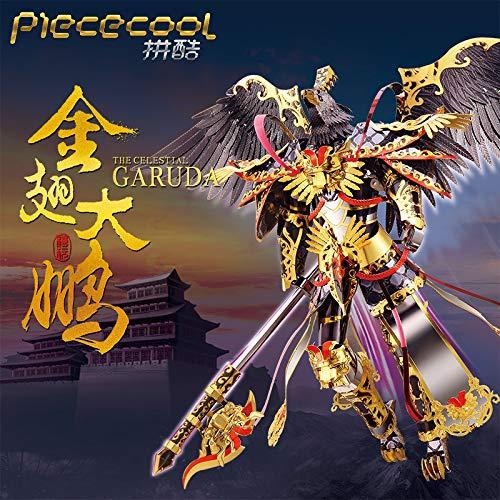 Piececool 3D Metal DIY Assemble Puzzle Jigsaw The Celestial Garuda P117-KGS