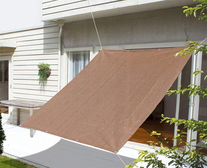 ZJDU Sun Shade Sail,Curved Rectangular UV-Blocking Sun Shade Sail for Outdoor Patio & Swimming Pool