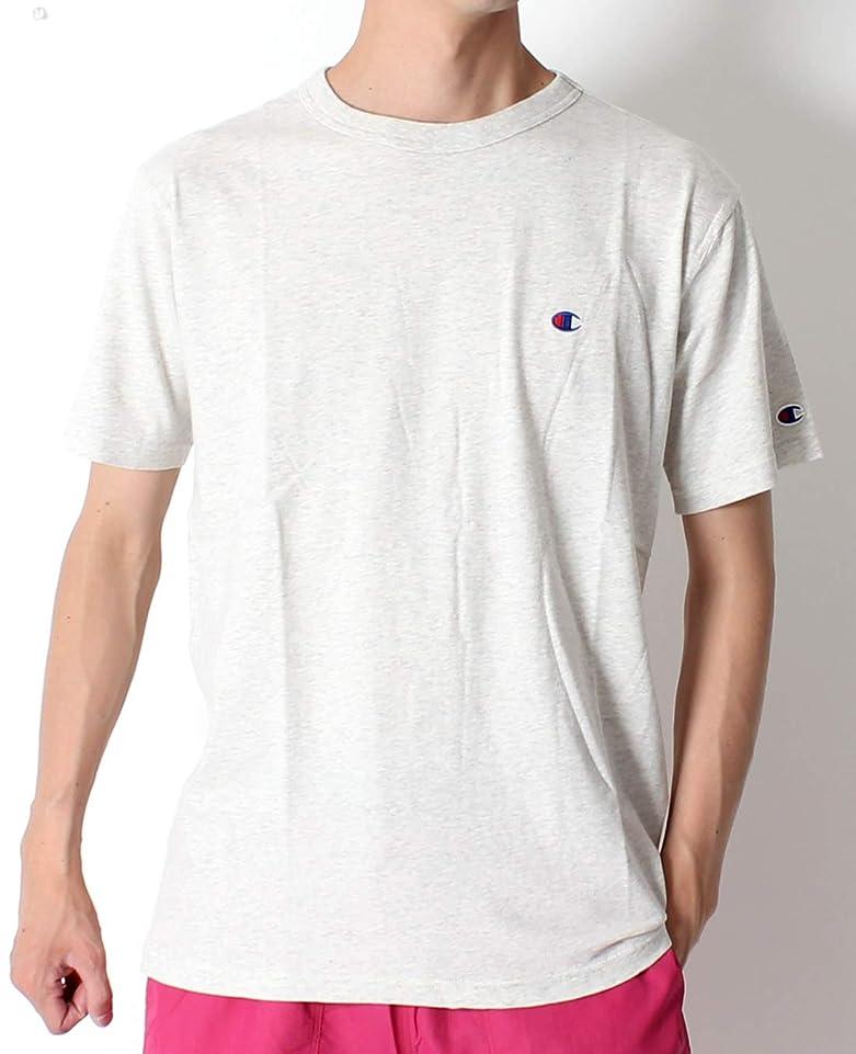 絶対にティーンエイジャーうなずくChampion チャンピオン ワンポイント ロゴ 胸ロゴ Tシャツ ベーシック 半袖 Tシャツ 春夏 スタンダード C3-P300