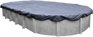 Pool Mate 341527-4-PM Commercial-Grade Winter Oval Above-Ground Pool Cover, 15 x 27-ft, Slate Blue