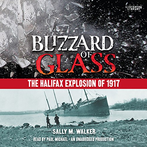 Blizzard of Glass audiobook cover art