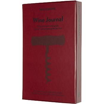 Libro di ricette da scrivere con titolo italiano con e senza angoli in metallo mit Metallecken Effetto pelle marrone. Logbuch-Verlag
