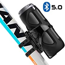 Avantree WP400 Portable Bluetooth 5.0 Bike Speaker with Bicycle Mount & SD Card Slot,..
