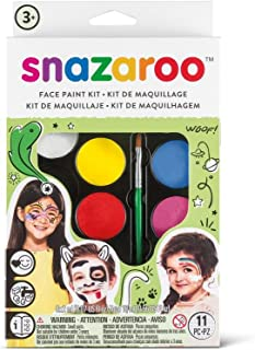 Snazaroo Palette Kit Face Paint, One Size, Rainbow