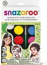 Snazaroo SZ1180102 Rainbow Face Paint Palette Kit