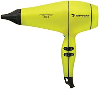 Turbo Power Forte Professional Hair Dryer - Yellow & Black - 318