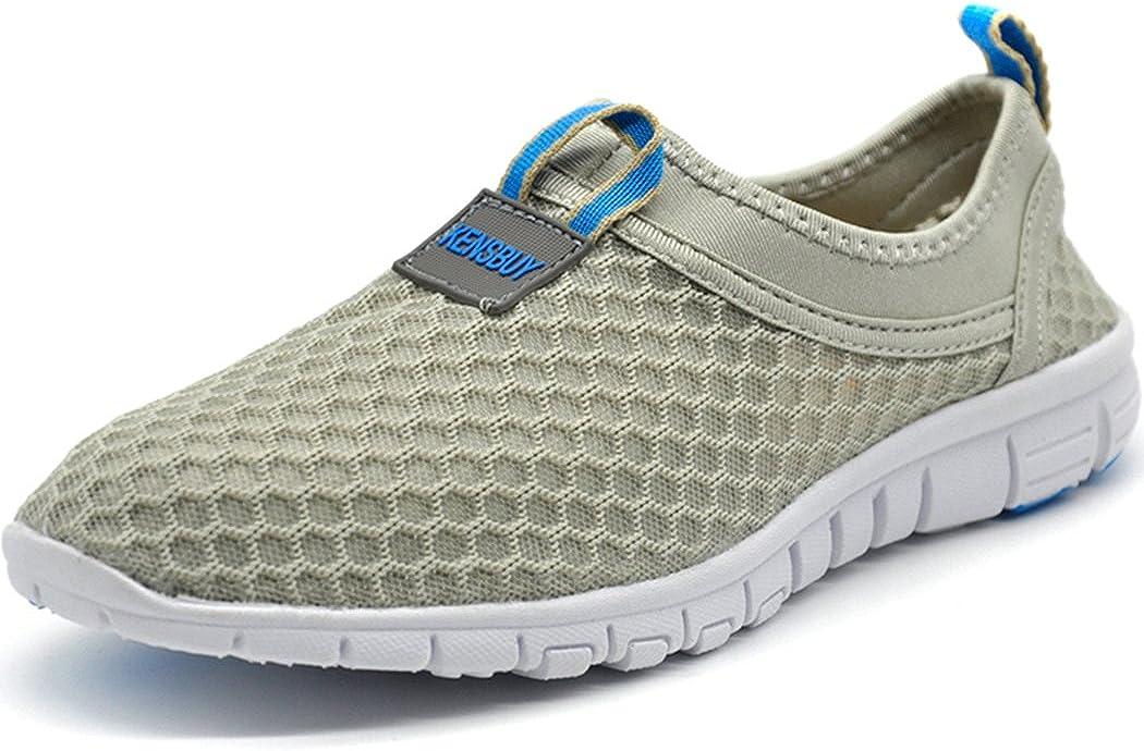 KENSBUY Men's Lightweight Slip on Mesh Miami Max 42% OFF Mall Aqua Drying W Shoes Quick