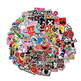 100pcs Random Sticker (60~1200pcs), Fast Shipped by Amazon. Variety Vinyl Car Sticker Motorcycle Bicycle Luggage Decal Graffiti Patches Skateboard Stickers for Laptop Stickers for Adult