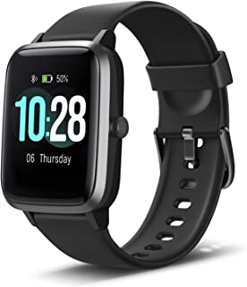 Anbes Health and Fitness Smartwatch with Heart Rate Monitor, Smart Watch for Home Fitness..