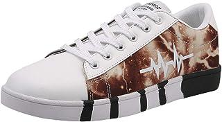 Lailailaily Men's Canvas Flat Comfortable Versatile Casual Low-Heel Non-Slip Sneakers Shoes