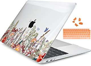 Dongke MacBook Air 13 Inch Case 2019 2018 Release A1932, Crystal Clear Hard Shell Cover for MacBook Air 13