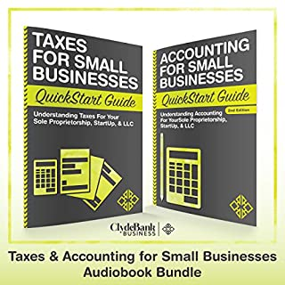 Taxes & Accounting for Small Businesses - QuickStart Guides cover art