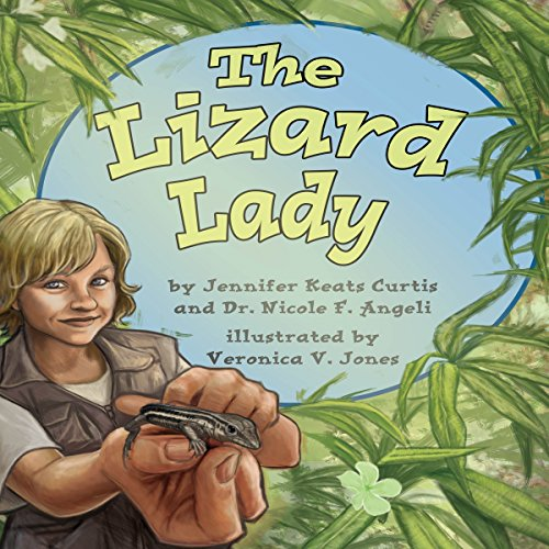 The Lizard Lady audiobook cover art
