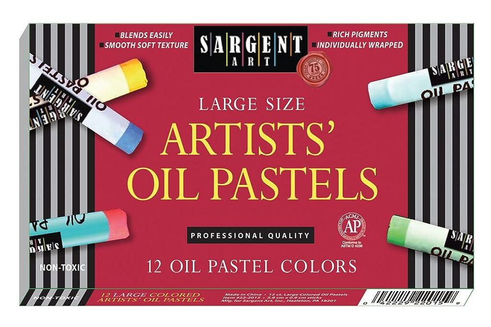 Sargent Art 22-2015 12-Count Large Oil Pastels