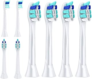Replacement Toothbrush Heads for Philips Sonicare ProtectiveClean 4100 5100 6100 Gum Health Toothbrush, 8 Packs
