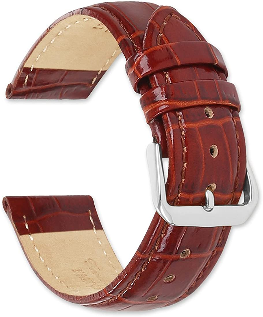 deBeer Brand Max 62% OFF Crocodile Grain Translated Watch - Gold Silver Band Buckle