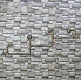 LXSnail Manguera de Pared de la Vendimia Percha de Hierro Sala de Estar Dormitorio Percha de Pared de Moda Perchero de Ropa Industrial de Feng Shui Perchero (Color : B)
