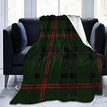 Tuttoperlacasashop Daunex Plaid Doux et l/éger Tartan /écossais 130 x 160 cm