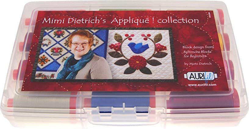 Mimi Dietrich's Applique Aurifil Thread Kit 8 50wt & 4 12wt Large Spools MD5012AC12