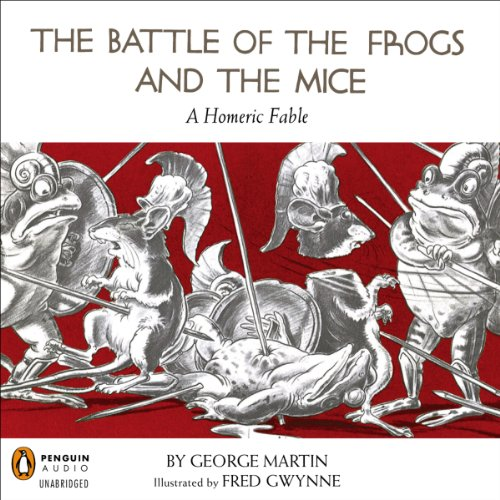 The Battle of the Frogs and the Mice audiobook cover art
