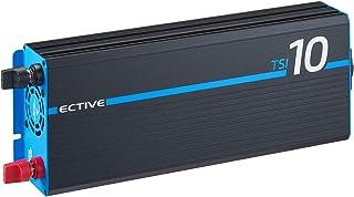 ECTIVE 1000W 12V omvormer naar 230V met een zuivere sinus TSI 10 met geïntegreerde NVS- en UPS-functie